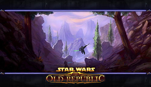 Star Wars Old Republic MMORPG