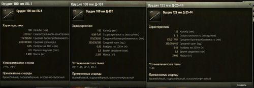 Сравнение орудий т 44 мир танков