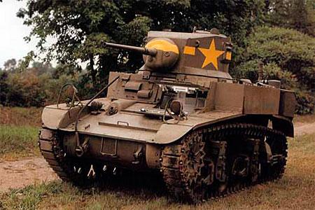 Настоящий m3 stuart мир танков