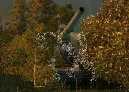 САУ с 51 wot на позиции