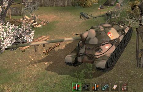 Камуфляж танка ис 7 мир танков