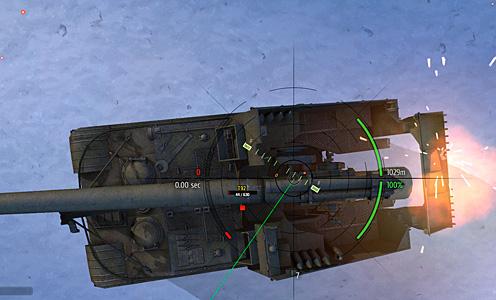 САУ т 92 в прицеле артиллерии wot