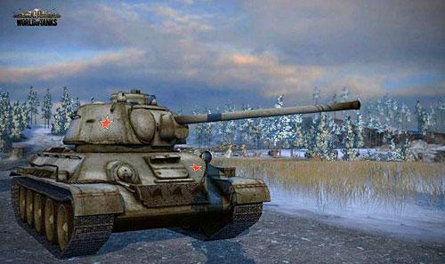 Танк т34 – скриншот world of tanks
