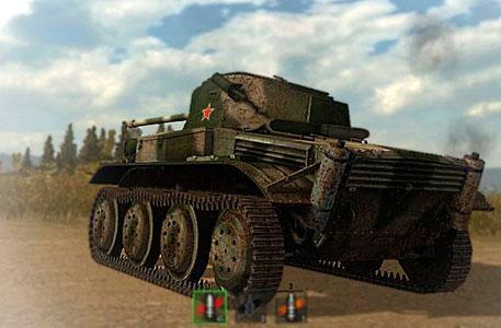 Скриншот tetrarch world of tanks
