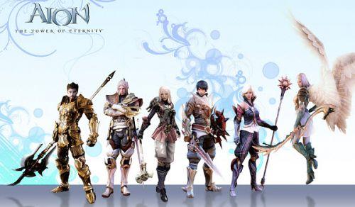 Типы персонажей в игре Айон