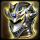 Сияющий латный шлем императора крылатых драконов
