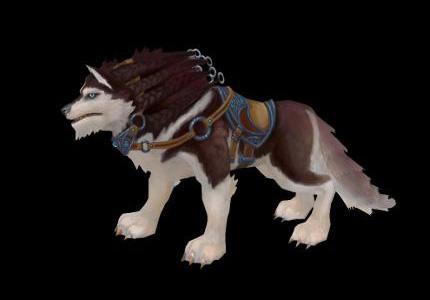 Ездовой волк в аллодах