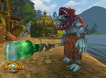 Скриншот моба в аллодах