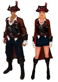 Костюм пирата из магазина игры кабал онлайн