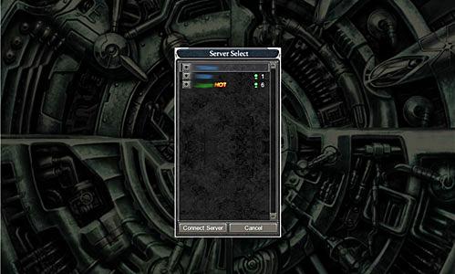 Выбор сервера Кабала