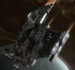 Еве онлайн корабль дальней разведки Falcon