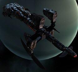 Eve боевой разведывательный корабль Huginn
