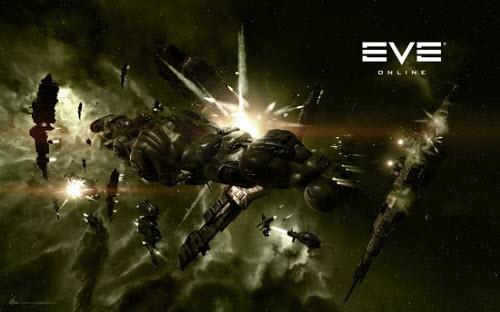 Военные действия в Eve online требуют мощных кораблей и пилотов мастер-класса