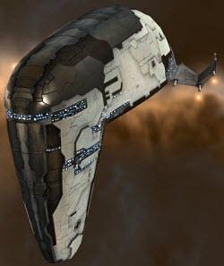 Eve online заградительный корабль Devoter