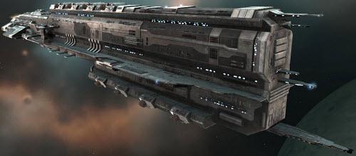 Еве линейный корабль Rokh