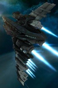 Еве онлайн линейный крейсер Myrmidon