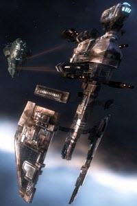 Еве онлайн корабль электронного противодействия Hyena