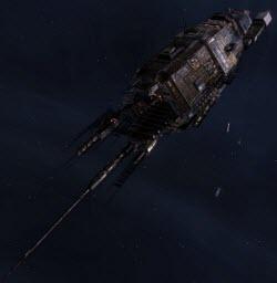 Еве линейный корабль Typhoon