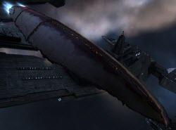 Еве онлайн грузовой корабль с гипердвигателем Ark