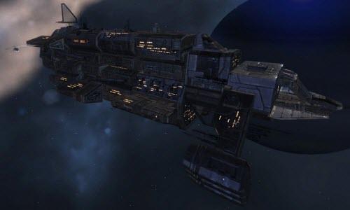 Еве онлайн промышленный корабль Hoarder