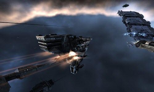 Eve online заградительный корабль Broadsword