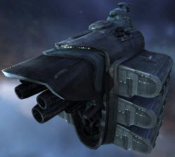 Еве онлайн грузовой корабль Obelisk