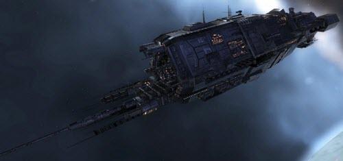 Eve линейный корабль Typhoon