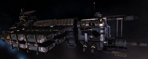 Eve промышленный корабль большого тоннажа Rorqual