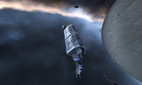 Промышленный корабль Badger в Eve online
