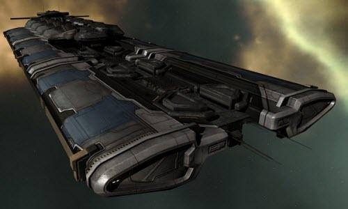 Eve online промышленный корабль большого тоннажа Orca