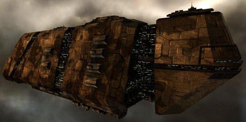 Еве онлайн грузовой корабль с гипердвигателем Nomad