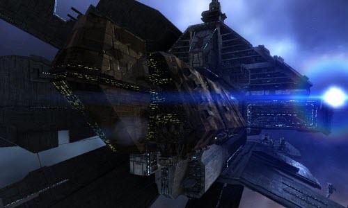 Eve корабль с гипердвигателем Nomad