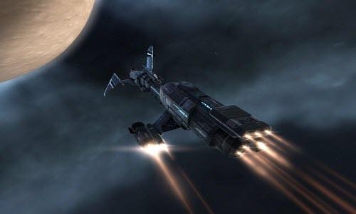 Ремонтный корабль Scimitar в Eve online
