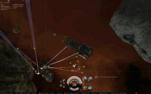 Процесс добычи руды в Eve online