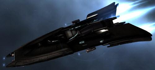 Eve боевой разведывательный корабль Curse