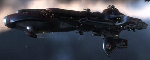 Eve online тяжелый заградительный корабль Phobos