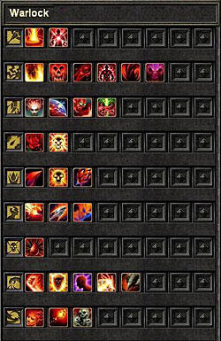 Список скиллов колдуна