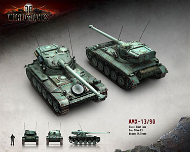 wot matchmaking amx 12t – put the amx 12t at tier 5 (because historically it shouldn't have an autoloader and should have 90mm-ish pen with is real top gun) – at tier 6, a new tank, the amx 13 fl11 (wich is a pre-serie of the amx 13, with an other turret, and also no autoloader.