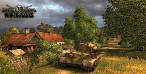 Сетевая игра танки