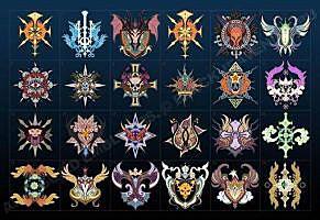 эмблемы легионов Aion